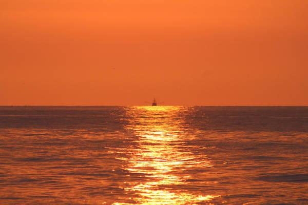 Photograph - Trawling The Morning Seas by Robert Banach