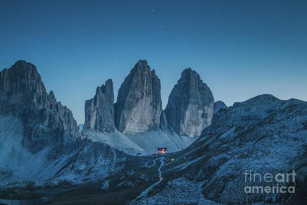 Wall Art - Photograph - Tre Cime Di Lavaredo by JR Photography