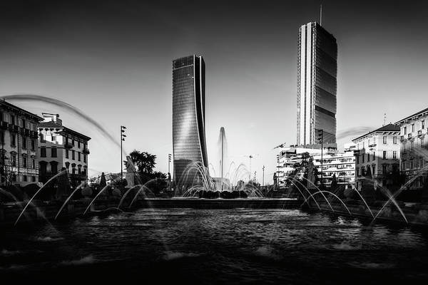 Photograph - Tre Torre, Milan, Lombardy, Italy by Alexandre Rotenberg