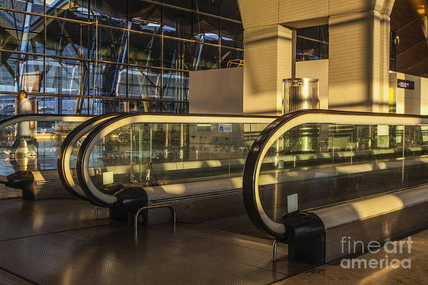 Prat Photograph - Treadmill At Airport by Patricia Hofmeester