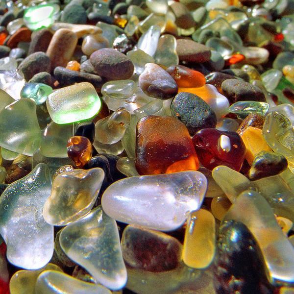 Furon Photograph - Treasure Beach - Square 2 by Daniel Furon