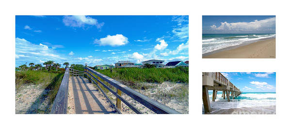 Photograph - Treasure Coast Florida Seascape Collage 1 by Ricardos Creations