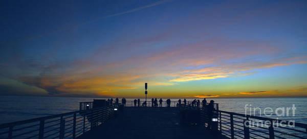 Photograph - Treasure Coast Florida Sunrise Seascape Pier B6 by Ricardos Creations