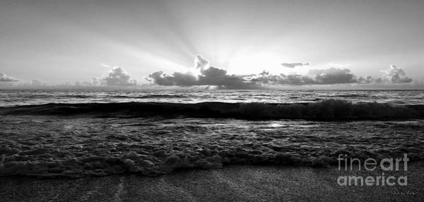 Photograph - Treasure Coast Florida Tropical Seascape Sunrise A1 by Ricardos Creations