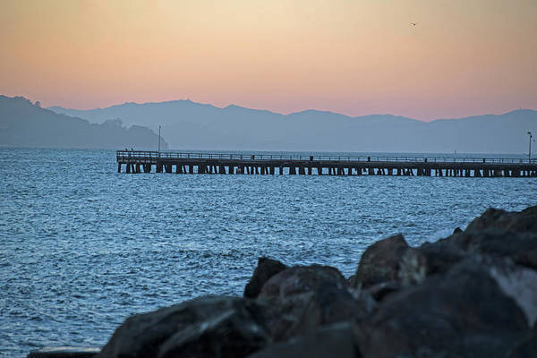 Photograph - Treasure Island Sunset Pier San Francisco Ca by Toby McGuire