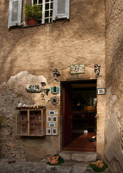 Photograph - Treasures In Eze by Steven Sparks