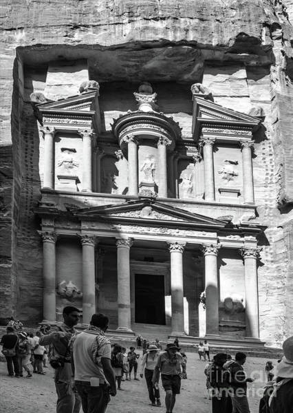 Photograph - Treasury Of Petra by Mae Wertz