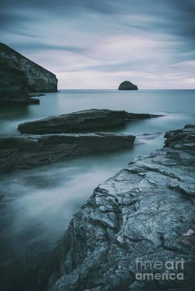 Photograph - Trebarwith Strand II by David Lichtneker