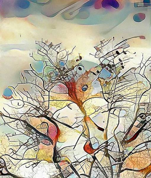 Digital Art - Tree Abstract by Marianna Mills