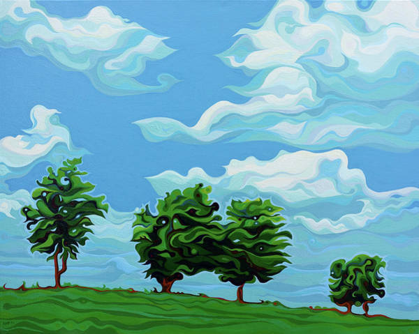 Painting - Tree Amigos by Amy Ferrari
