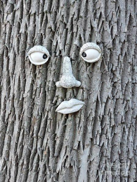 Wall Art - Photograph - Tree Face by Michael Wayne Gulliver