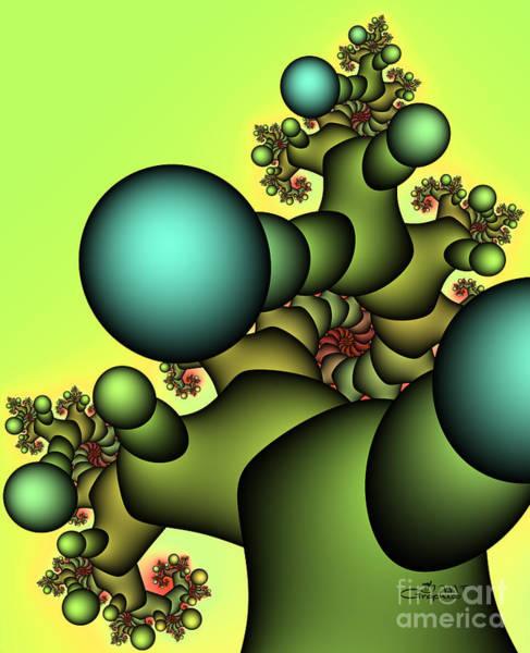 Digital Art - Tree Giant by Jutta Maria Pusl