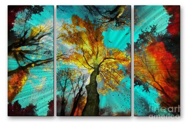 Mixed Media - Tree House by Dt