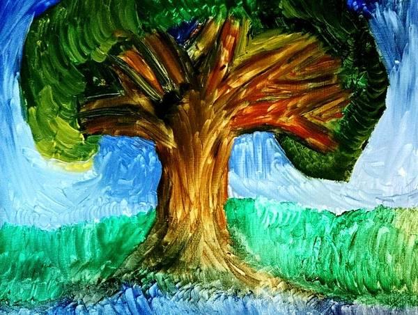 Tree Island  Art Print