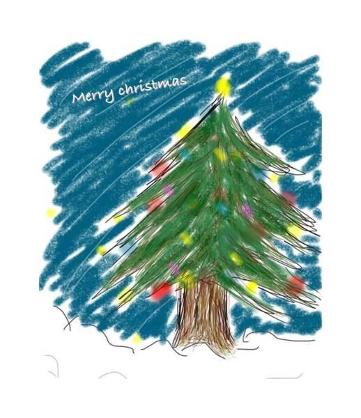 Drawing Drawing - Tree by Kumiko Izumi