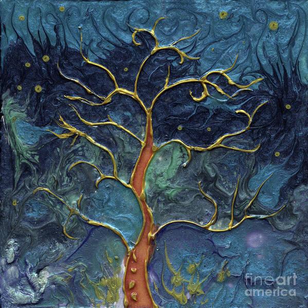 Wall Art - Painting - Tree Of Life by Angel Ciesniarska