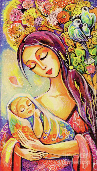 Divine Love Wall Art - Painting - Tree Of Life by Eva Campbell