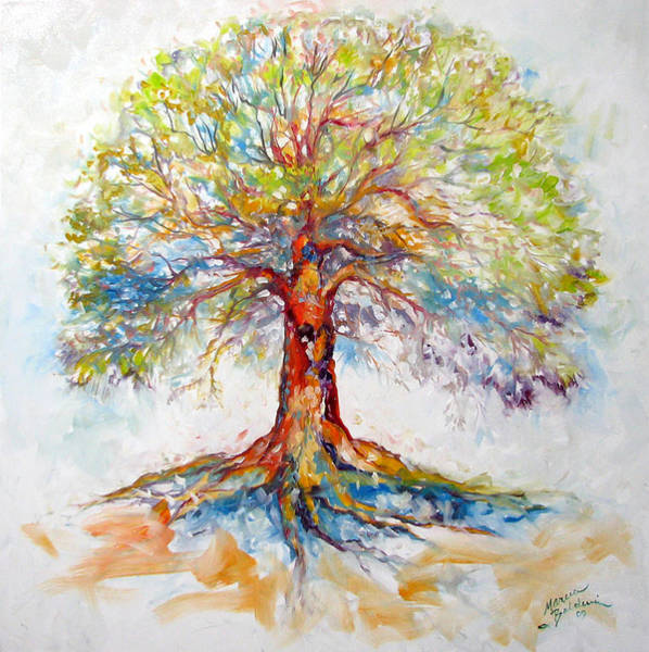 Painting - Tree Of Life Hope by Marcia Baldwin
