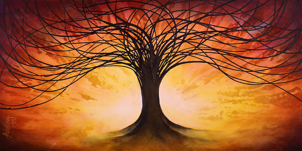 Wall Art - Painting - Tree Of Life by Michael Lang