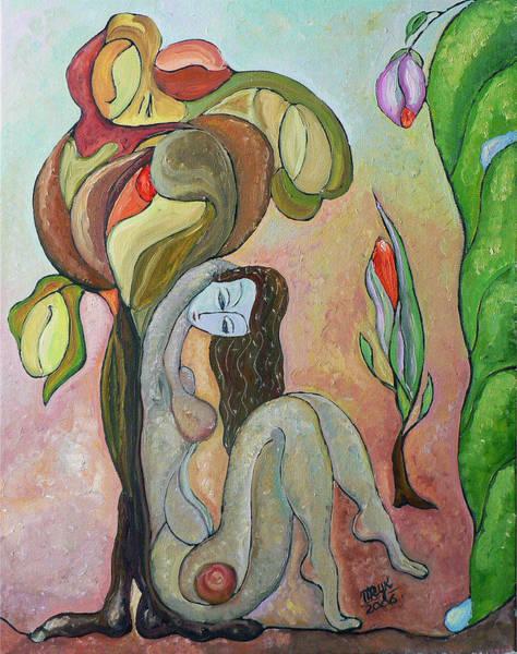 Tree Of Life Art Print by Mila Ryk