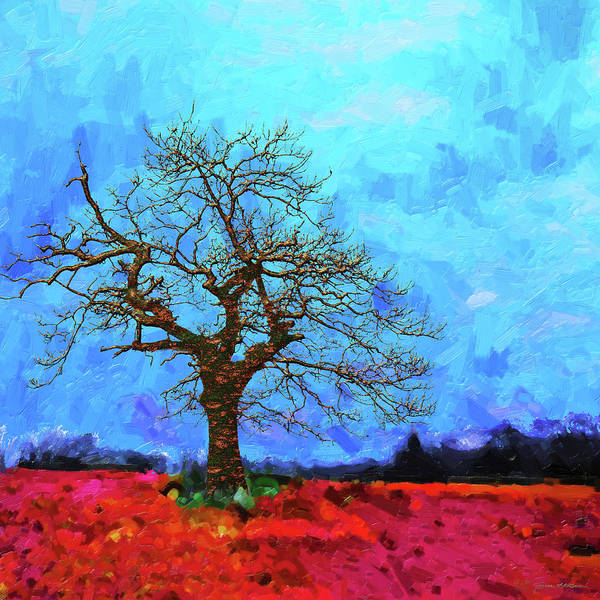 Digital Art - Tree Of Life - Out Of The Blue by Serge Averbukh