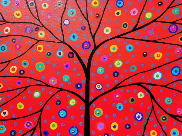Toomer Wall Art - Painting - Tree Of Life Painting by Pristine Cartera Turkus