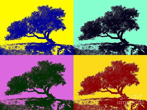 Photograph - Tree Of Life X 4 by Tap On Photo