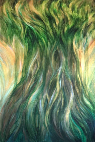 Painting - Tree Of Wisdom by Michelle Pier