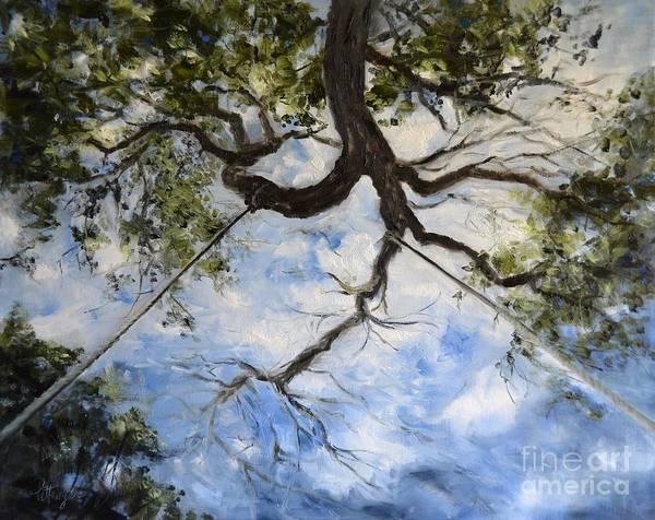 Painting - Tree Swing by Lori Pittenger