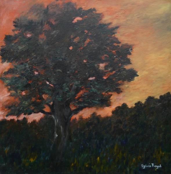 Wall Art - Painting - Tree by Sylvia Royal