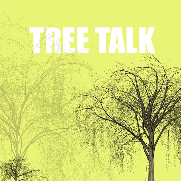 Vegetarian Digital Art - Tree Talk by Kike Calvo