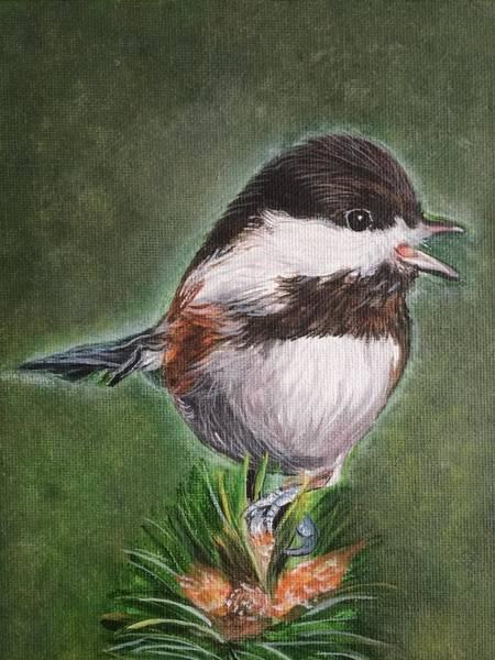 Painting - Tree Topper by Sonja Jones