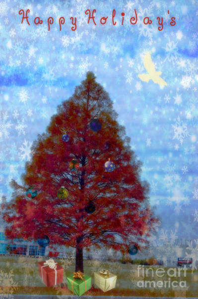 Photograph - Tree With Gifts by Donna Bentley