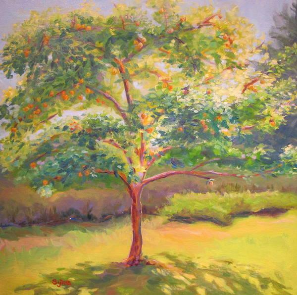 Wall Art - Painting - Tree With Life by Sylvia Carlton
