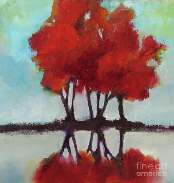 Trees For Alice Art Print