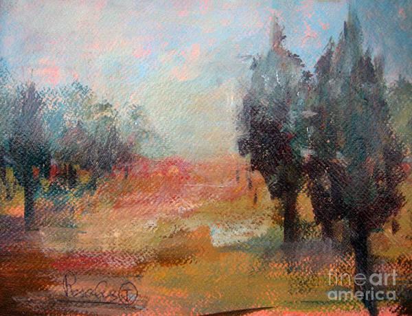 Art In America Painting - Trees by Rosalia  Tignini Verdun