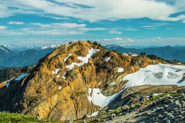 Photograph - Trekking Into Camp by Doug Scrima