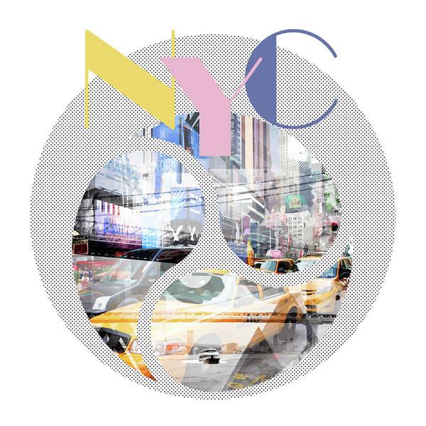 Wall Art - Photograph - Trendy Design New York City Geometric Mix No 1 by Melanie Viola