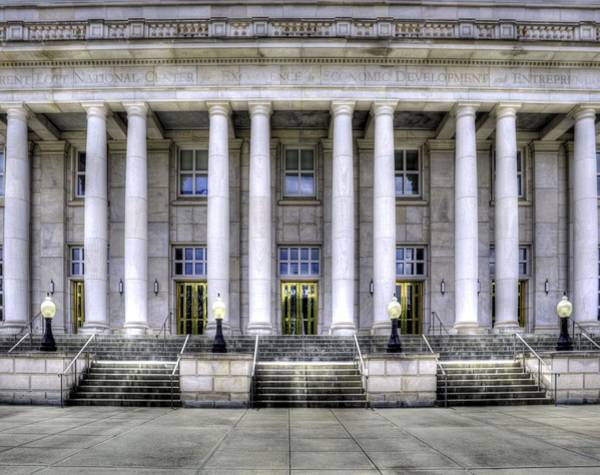 Photograph - Trent Lott National Center by JC Findley