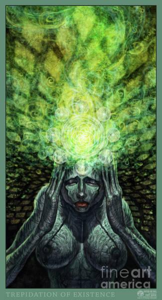 Digital Art - Trepidation Of Existence by Tony Koehl