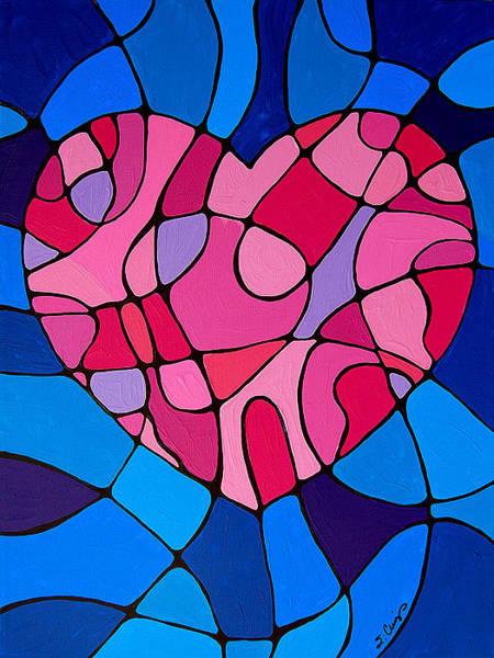 Girly Painting - Treu Love by Sharon Cummings