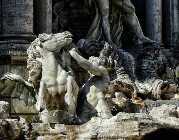 Photograph - Trevi Fountain by Coleman Mattingly