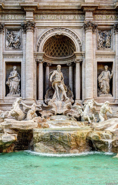Photograph - Trevi Fountain by Weston Westmoreland