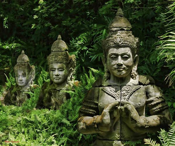 Photograph - Tri-buddha by Blake Richards