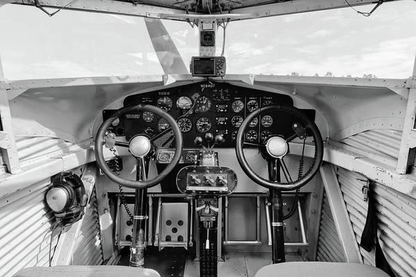 Tri-motor Cockpit - 2017 Christopher Buff, Www.aviationbuff.com Art Print