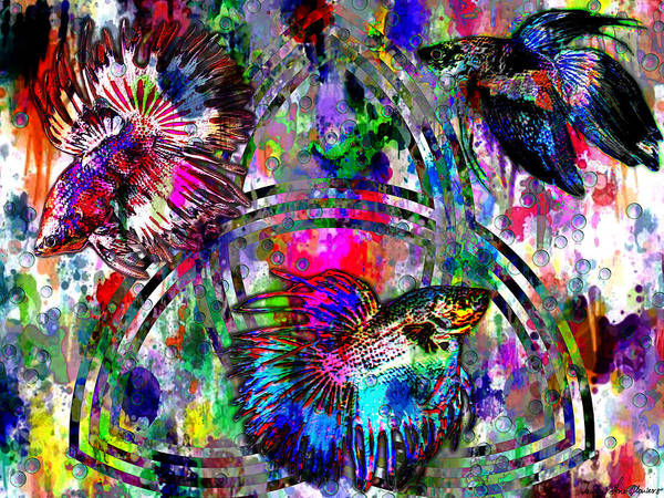 Crone Wall Art - Digital Art - Triad by Iowan Stone-Flowers