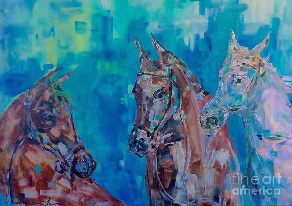 Painting - Triad by Lisa Owen-Lynch