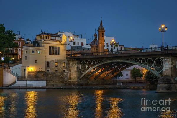 Photograph - Triana Bridge Seville Spain by Pablo Avanzini