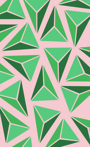 Digital Art - Triangle Geo by Cortney Herron