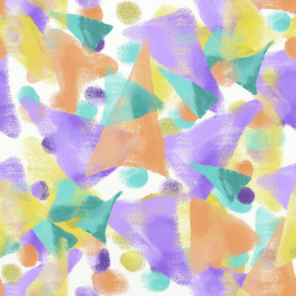 Digital Art - Triangles Galore by April Burton